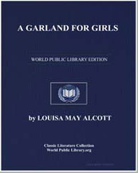 A Garland for Girls by Alcott, Louisa May