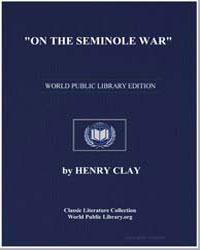 On the Seminole War by Clay, Henry
