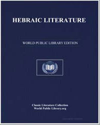 Hebraic Literature : Translations from t... by Anonymous