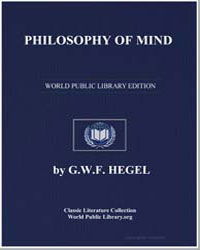 Philosophy of Mind by Hegel, G. W. F.