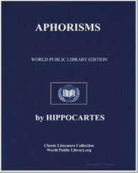 Aphorisms by Hippocrates