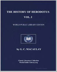 The History of Herodotus : Volume 1 by Macaulay, George Campbell