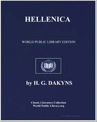 Hellenica by Xenophon, of Athens