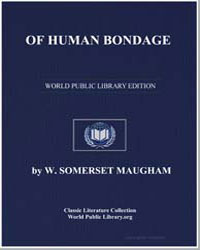 Of Human Bondage by Maugham, William Somerset