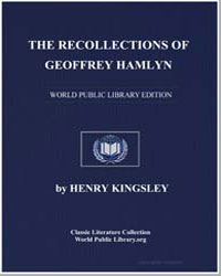 The Recollections of Geoffrey Hamlyn by Kingsley, Henry