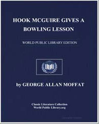Hook Mcguire Gives a Bowling Lesson by Moffatt, George Allan
