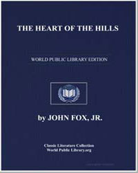 The Heart of the Hills by Fox, John, Jr.