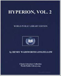 Hyperion, Vol. 2 by Longfellow, Henry Wadsworth