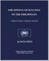 The Epistle of Ignatius to the Philippia... by Ignatius