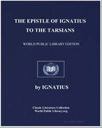 The Epistle of Ignatius to the Tarsians by Ignatius