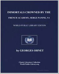 Immortals Crowned by the French Academy ... by Ohnet, Georges