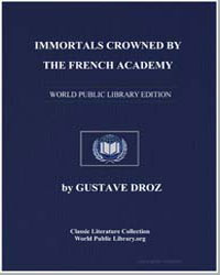 Immortals Crowned by the French Academy ... by Droz, Gustave