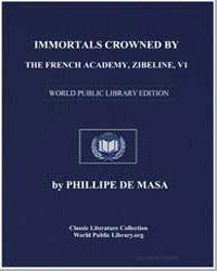 Immortals Crowned by the French Academy,... by De Masa, Phillipe