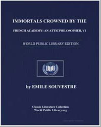 Immortals Crowned by the French Academy ... by Souvestre, Emile