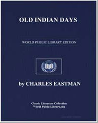 Old Indian Days by Eastman, Charles Alexander