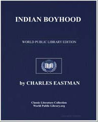 Indian Boyhood by Eastman, Charles Alexander
