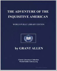 The Adventure of the Inquisitive America... by Allen, Grant