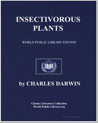 Insectivorous Plants by Darwin, Charles
