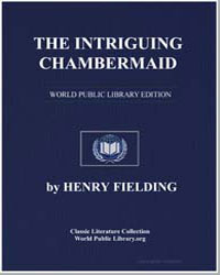 The Intriguing Chambermaid by Fielding, Henry