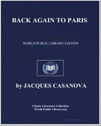 Back Again to Paris by Casanova, Jacques