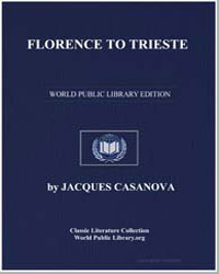 Florence to Trieste by Casanova, Jacques