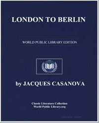 London to Berlin by Casanova, Jacques