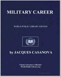 Military Career by Casanova, Jacques