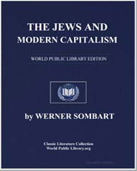 The Jews and Modern Capitalism by Sombart, Werner