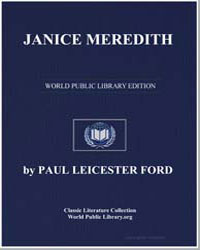 Janice Meredith by Ford, Paul Leicester