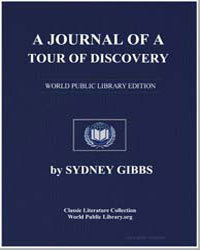 A Journal of a Tour of Discovery by Gibbs, Sydney
