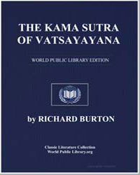 The Kama Sutra of Vatsayayana by Burton, Richard Francis, Sir