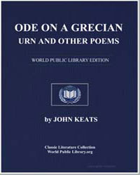 Ode on a Grecian Urn and Other Poems by Keats, John
