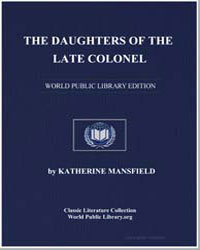 The Daughters of the Late Colonel by Mansfield, Katherine