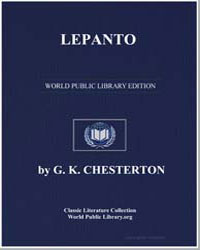 Lepanto by Chesterton, Gilbert K.