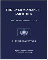 The River Scamander and Other by De La Fontaine, Jean