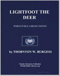 Lightfoot the Deer by Burgess, Thornton Waldo