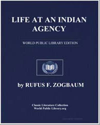Life at an Indian Agency by Zogbaum, Rufus Fairchild