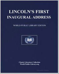 Lincoln's First Inaugural Address by