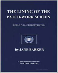 The Lining of the Patchwork Screen by Barker, Jane