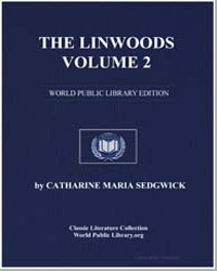 The Linwoods, Volume 2 by Sedgwick, Catharine Maria