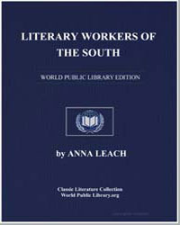 Literary Workers of the South by Leach, Anna