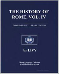 The History of Rome, Volume Iv by Livius, Titus