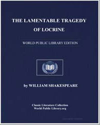 The Lamentable Tragedy of Locrine by Shakespeare, William