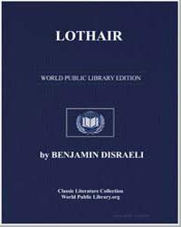 Lothair by Disraeli, Benjamin, Earl of Beaconsfield