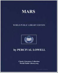 Mars by Lowell, Percival