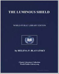 The Luminous Shield by Blavatsky, Helena Pretrovna