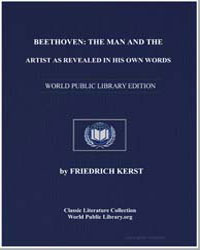 Beethoven : The Man and the Artist as Re... by Beethoven, Ludwig Van