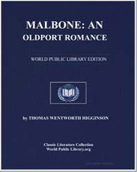 Malbone : An Oldport Romance by Higginson, Thomas Wentworth