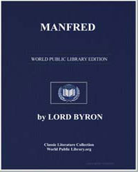 Manfred by Byron, Lord