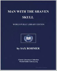 Man with the Shaven Skull by Rohmer, Sax